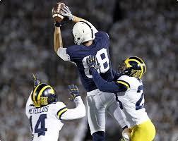 college football penn beats michigan 42 13 reading eagle