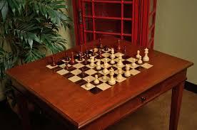 chess table the camaratta signature master chess table house of staunton