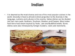 most popular cuisines presentation on cuisne