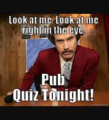 Quiz Meme - stag ascot every wednesday pubquiz from 9pm at the facebook