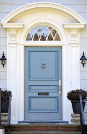 21 cool blue front doors for residential homes intended for