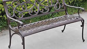 Cast Aluminum Furniture Manufacturers by Bench Splendid Patio Garden Bench Cast Aluminum Uncommon Small