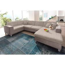 canap beige canap d angle tissu beige great canap duangle laredo similicuir