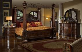 Tuscan Furniture Collection The Milano Formal Bedroom Collection 15386