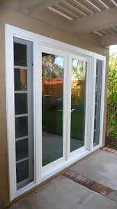 Exterior Single French Door by Patio Doors Single French Patio Door With Sidelights Doors For