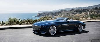 mercedes convertible of luxury vision mercedes maybach 6 cabriolet