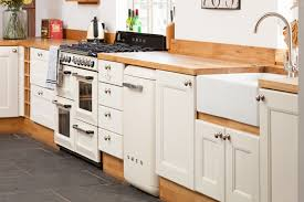 Choosing Specialist Cabinets For Oak Kitchens Solid Wood Kitchen - Kitchen with belfast sink