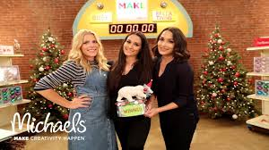 the bella twins u0026 busy philipps make gingerbread houses michaels