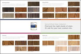 to choose a stain color for white oak flooring to max