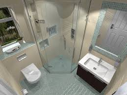bathroom modern design ideas with gray tile flooring large size bathroom white toilet acrylic shower stall wall mounted sink above brown