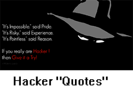 hacker quotes and sayings tech2hack