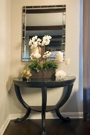 Half Moon Console Table Awesome Half Moon Table Decorating Ideas Images In Spaces