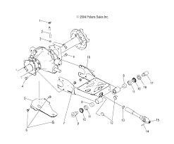 2005 Polaris Sportsman 500 Atp Rear Driveshaft U Joint Swap