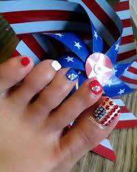 memorial day nail art american flag nails usa pedi 4th of july