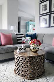 small round coffee table endearing round dark wood coffee table 20 best ideas about round