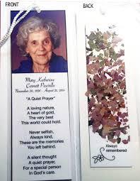 memorial bookmarks memorial bookmarks