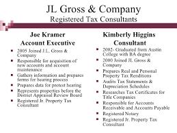 Ads Depreciation Table Jl Gross Ad Valorem Tax Services