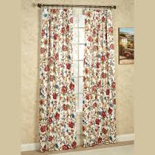 Pinch Pleat Drapes For Patio Door Cornwall Pinch Pleat Thermal Room Darkening Floral Curtains