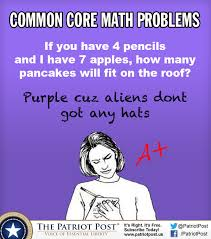 Math Problem Meme - common core math problems the patriot post