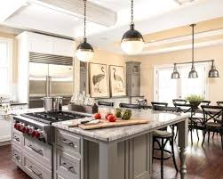 kitchen island with cooktop and seating home design