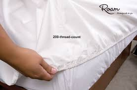 fitted rv sheets french vanilla short queen direcsource ltd