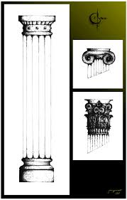 column sketch compilation by compass file on deviantart