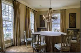 Hang Curtains From Ceiling Hang Curtain Panels High And Wide To Expand A Room With Low