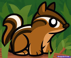 how to draw a chipmunk for kids step by step animals for kids