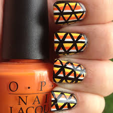 mini candy corn nails polish me please