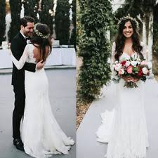 bohemian wedding dress boho wedding dress ebay