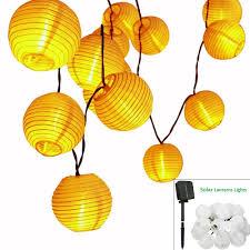 led lantern string lights solar led lanterns string lights aled light 21 3ft 6 5m 30 led