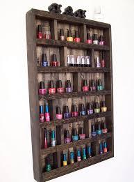 nail polish organizer rack home design ideas