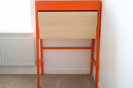 bureau ps ikea ps bureau desk in orange birch veneer in hackney