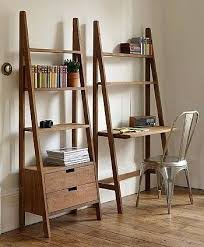 bookcase ladder shelf ikea ladder bookcase desk combo leaning