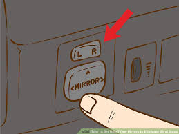 Best Place For Blind Spot Mirror How To Set Rear U2010view Mirrors To Eliminate Blind Spots 6 Steps