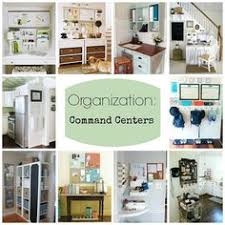 kitchen message center ideas small space command center menu planners organizing and planners