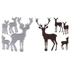 reindeer paper crafts choice image craft decoration ideas