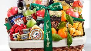 sympathy gift baskets great wimberley fruit baskets same day delivery intended for