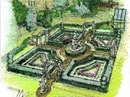 Formal Garden Design Ideas 299 Best Formal And Parterre Gardens Images On Pinterest Formal