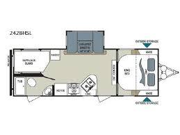 Dutchmen Aerolite Floor Plans New Or Used Dutchmen Aerolite 30bh Sl Travel Trailer Rvs For Sale