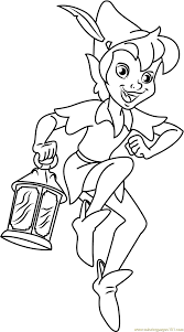pan coloring pages free 28 images pan coloring page twisty