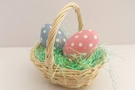 easter egg basket 5 ideas for alternative easter egg treats for the children