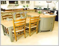 kitchen island with attached table 28 images attached island