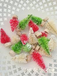 bottle brush tree ideas for christmas u create