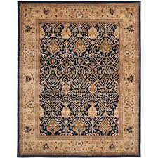 thin area rugs safavieh persian legend blue gold 6 ft x 9 ft area rug pl819c 6