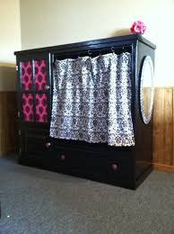 Entertainment Center Ideas Diy My Entertainment Center Turned Into Storage For Dress Up Clothes