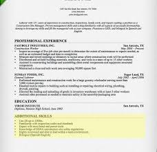 Sample Resume With Skills Section by Homey Ideas Skills Section Resume 1 How To Write A Cv Resume Ideas