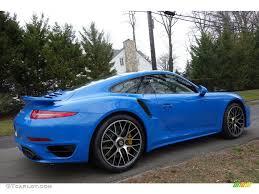 blue porsche 2016 2016 voodoo blue paint to sample porsche 911 turbo s coupe
