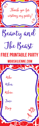 beauty and the beast printable party mooshu jenne