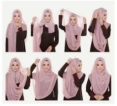 tutorial hijab syar i untuk pengantin anggun dan menawan dengan 15 tutorial hijab modern syar i style terbaru